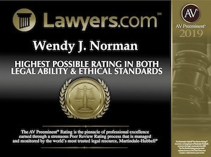 AV 2019 Award Winning Divorce Lawyer in Jacksonville, FL