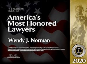 2021 divorce lawyer award Jacksonville